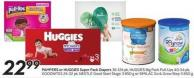 Pampers or Huggies Super Pack Diapers 36-124 Pk - Huggies Big Pack Pull-Ups 40-54 Pk - Goodnites 24-32 Pk - Nestlé Good Start Stage 3 850 g or Similac Go & Grow Step 3 850 g
