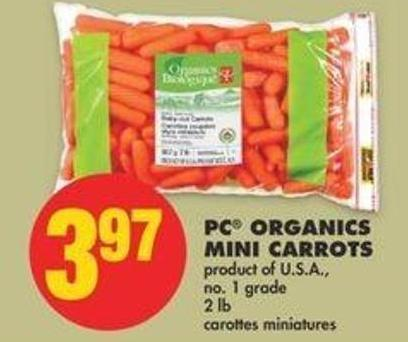 PC Organics Mini Carrots - 2 Lb