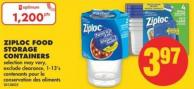 Ziploc Food Storage Containers - 1-13's