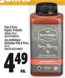 Pulp & Press Organic Probiotic Juices 355 ml