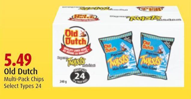 Old Dutch Multi-pack Chips