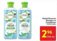 Herbal Essences Shampoo or Conditioner 346 ml