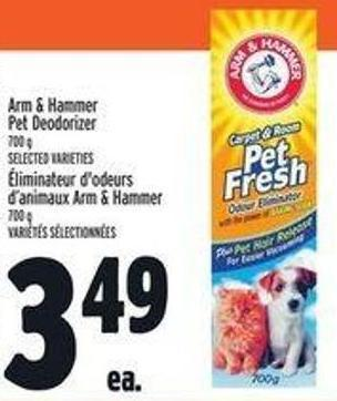 Arm & Hammer Pet Deodorizer