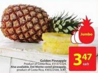 Golden Pineapple