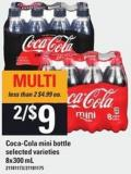 Coca-cola Mini Bottle - 8x300 Ml