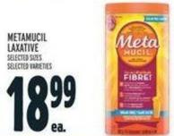 Metamucil Laxative