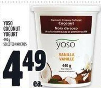 Yoso Coconut Yogurt