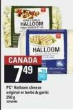 PC Halloom Cheese Original Or Herbs & Garlic - 250 g
