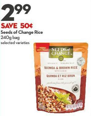 Seeds of Change Rice  240g Bag