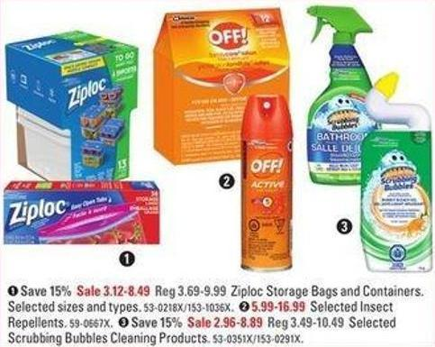 Selected Scrubbing Bubbles Cleaning Products