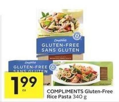 Compliments Gluten-free Rice Pasta