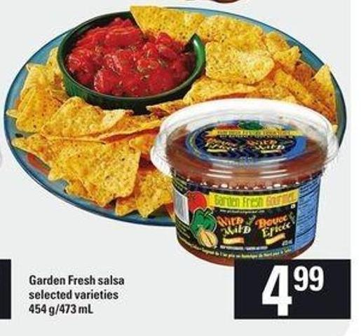 Garden Fresh Salsa - 454 G/473 mL