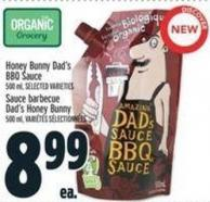 Honey Bunny Dad's Bbq Sauce 500 ml