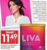 Liva Raw Date Sugar