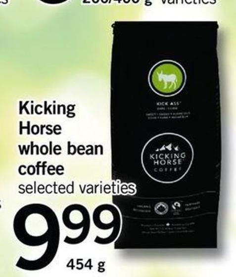 Kicking Horse Whole Bean Coffee - 454 G