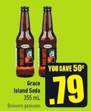 Grace Island Soda 355 mL