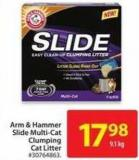 Arm & Hammer Slide Multi-cat Clumping Cat Litter