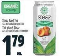 Steaz Iced Tea 473 ml