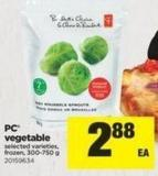 PC Vegetable - 300-750 g