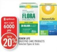 Renew Life Digestive Care Products