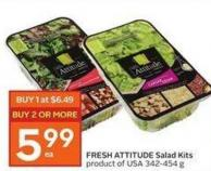 Fresh Attitude Salad Kits Product of USA 342-454 g
