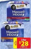 Maxwell House Single Serve K-cups 30s