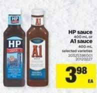 HP Sauce - 400 Ml Or A1 Sauce - 400 Ml