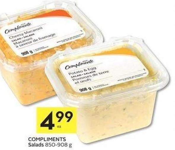 Compliments Salads 850 - 908 g