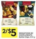 Sensations By Compliments Kettle Chips