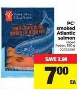 PC Smoked Atlantic Salmon - 150 G