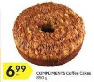 Compliments Coffee Cakes