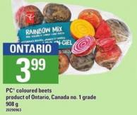 PC Coloured Beets - 908 G