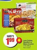 Lean Cuisine - Stouffer's or Bistro Crustini 170-340 g