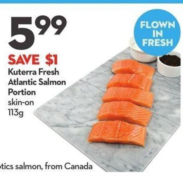 Kuterra Fresh Atlantic Salmon Portion