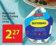 Butterball Fresh Turkey