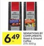 Sensations By Compliments Roast & Ground Coffee