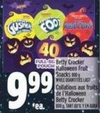 Betty Crocker Halloween Fruit Snacks 800 g