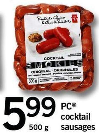PC Cocktail Sausages