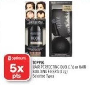 Toppik Hair Perfecting Duo (1's) or Hair Building Fibers (12g)