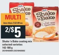 Shake'n Bake Coating Mix - 142-180 g