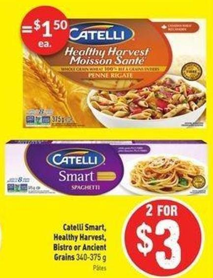 Catelli Smart - Healthy Harvest - Bistro or Ancient Grains 340-375 g