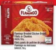 Flamingo Breaded Chicken Breast Fillets Or Chunkies