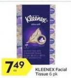 Kleenex Facial Tissue - 25 Air Miles
