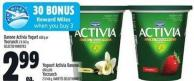 Danone Activia Yogurt 650 G Or Yocrunch 2 X 143 G