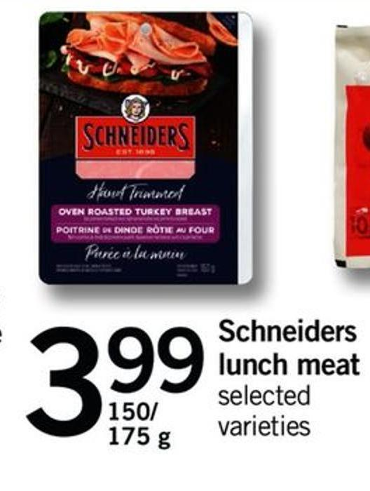 Schneiders Lunch Meat - 150/ 175 G