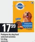 Pedigree Dry Dog Food - 5.4-8 Kg