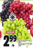 Green - Red Or Black Seedless Grapes | Raisins Sans Pépins Verts - Rouges Ou Noirs