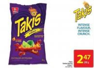 Takis Rolled Nacho Chips 280 g
