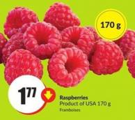 Raspberries Product of USA 170 g