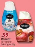 Renuzit Air Freshener Select Types 198g